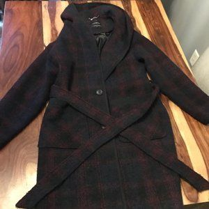 Lucky Brand Womens Trench Coat